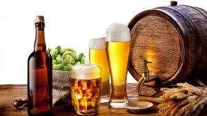 Hạn chế sử dụng bia rượu.
