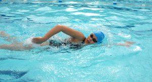 Bài tập bơi lội.