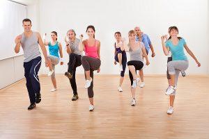 Bài tập Aerobic nhẹ nhàng và bài tập Cardio